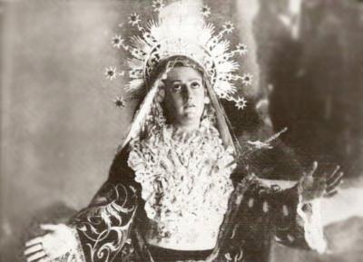 Dolorosa Hellín. antes 1936.