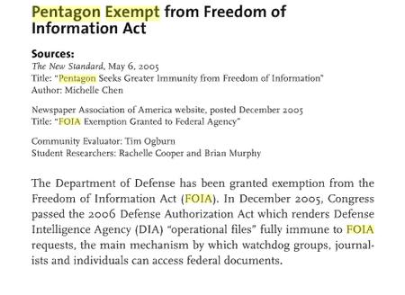 Pentagon_foai